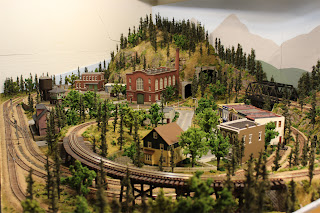Main overview of Ty's Model Railroad Layout
