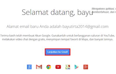 sambutan dari gmail
