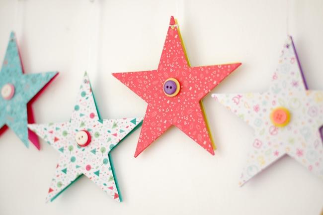 Diy estrellas con papeles de origami my fun time - Origami de una estrella ...