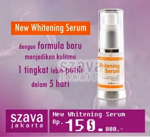 New Whitening Serum Ready Now!!