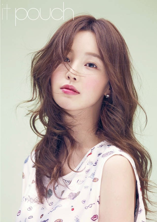 Nam Gyu Ri - it pouch Magazine April Issue 2014