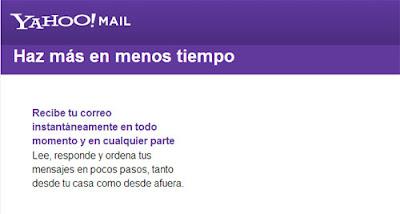 abrir correo yahoo respuestas automaticas