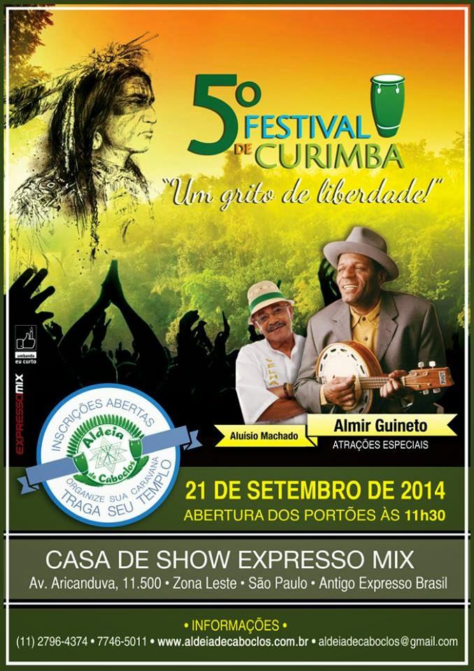 5º Festival de Curimba Aldeia de Caboclos