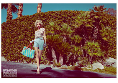 elitist woman fashion shoot, palm springs