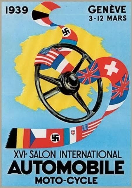 Cabelkawan les affiches du salon automobile de gen ve au - Affiche salon de l auto ...