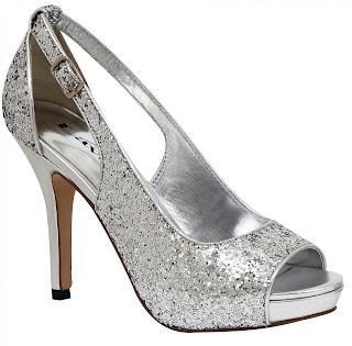 Sapato prata para festa