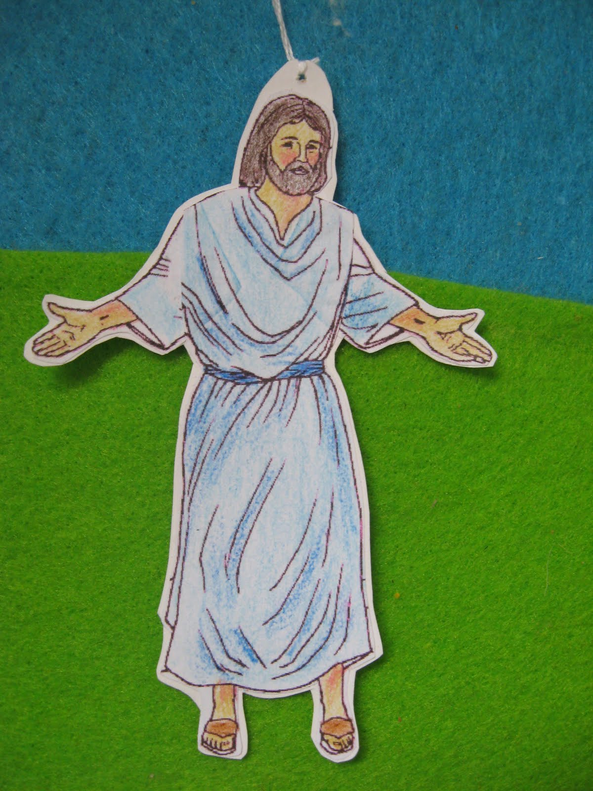 clipart of jesus ascending to heaven - photo #28