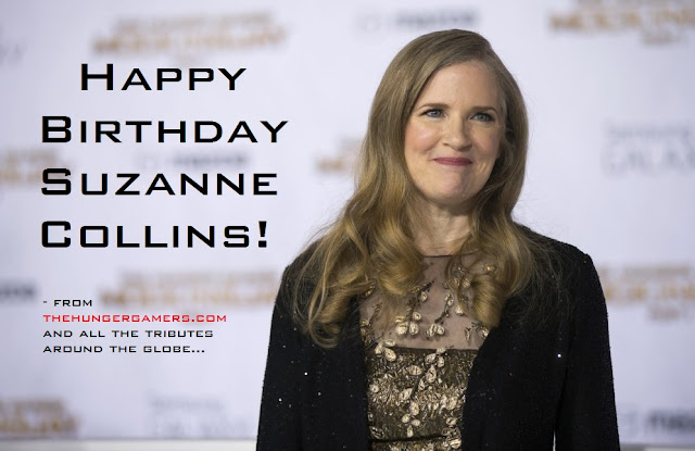Suzanne Collins Hunger Games Author Birthday