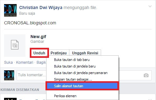 Cara Upload Foto GIF ke Facebook Terbaru 100% Work