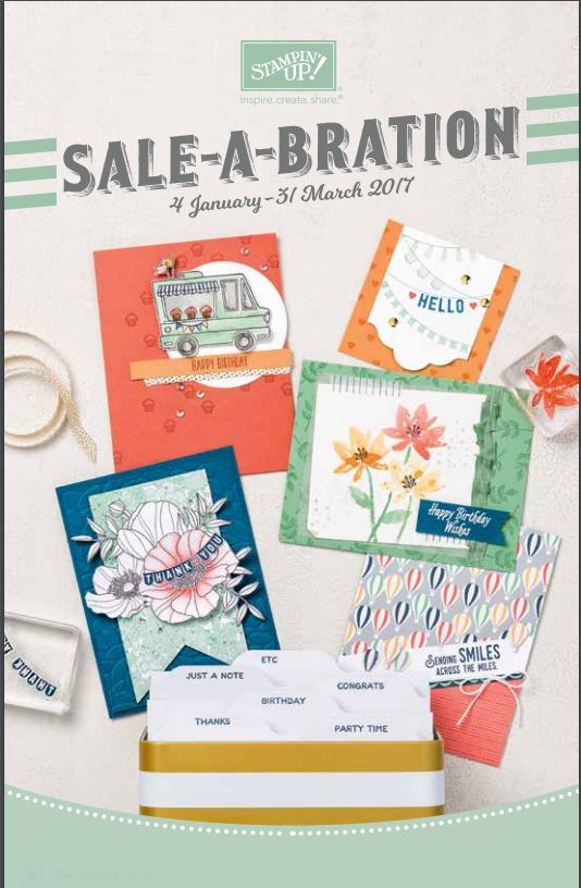 SALE-A-BRATION 2017 valid 4 January - 31 March 2017