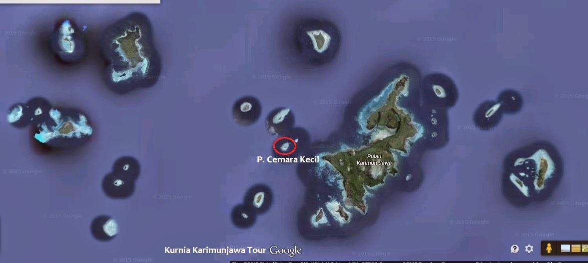 lokasi pulau cemara kecil
