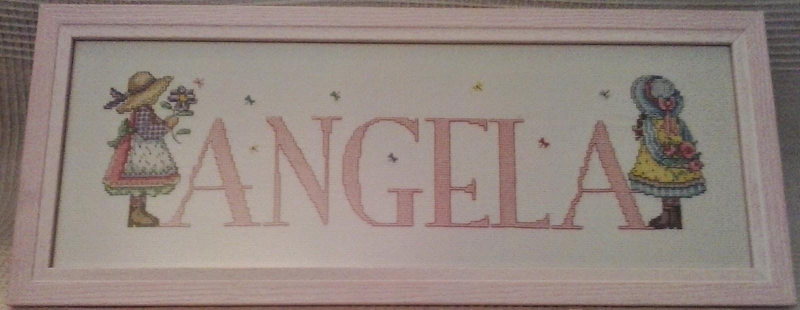 Angela y sus labores cuadros en punto de cruz - Labores en punto de cruz ...