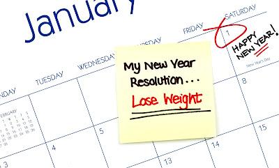 Resolusi turun berat badan