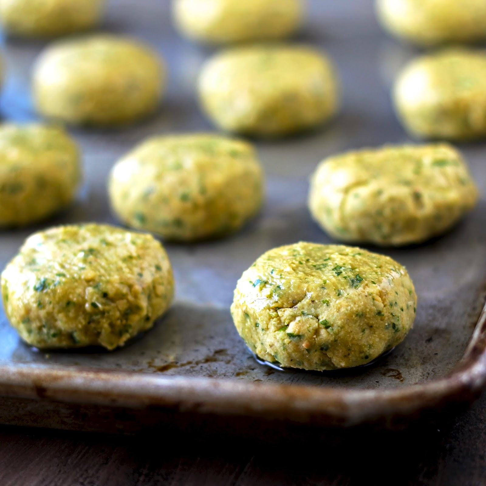 Gluten-Free Baked Falafel With Tahini Aioli Recipes — Dishmaps