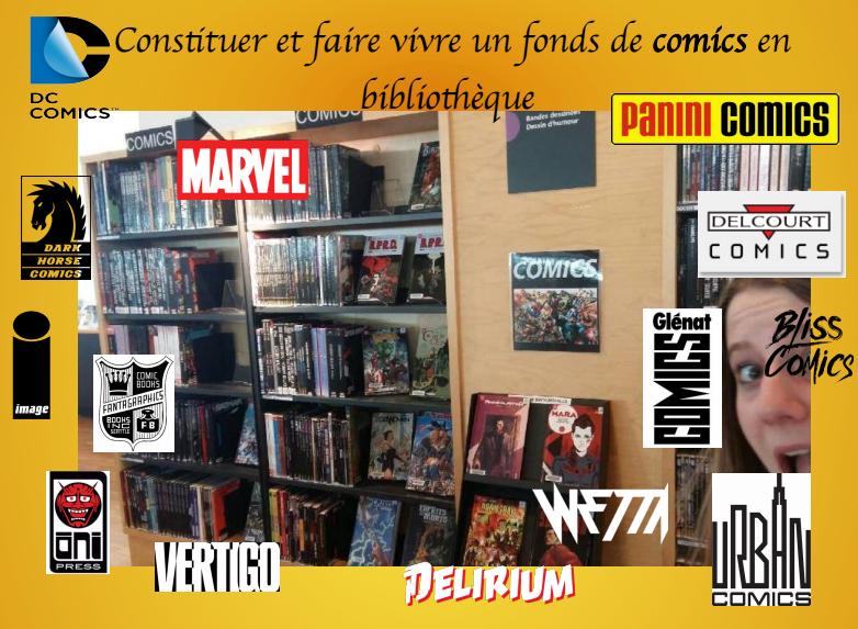 Comics en bibliothèque !