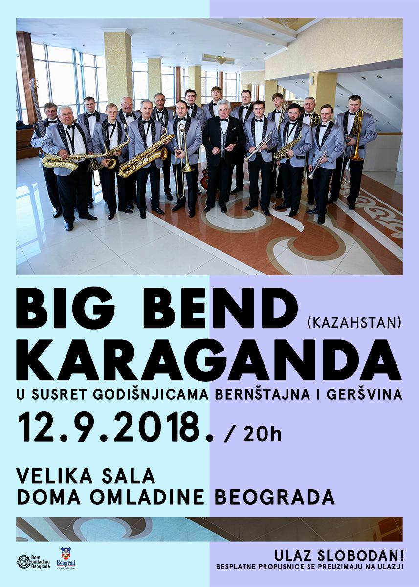 Big bend Karaganda (Kazahstan)