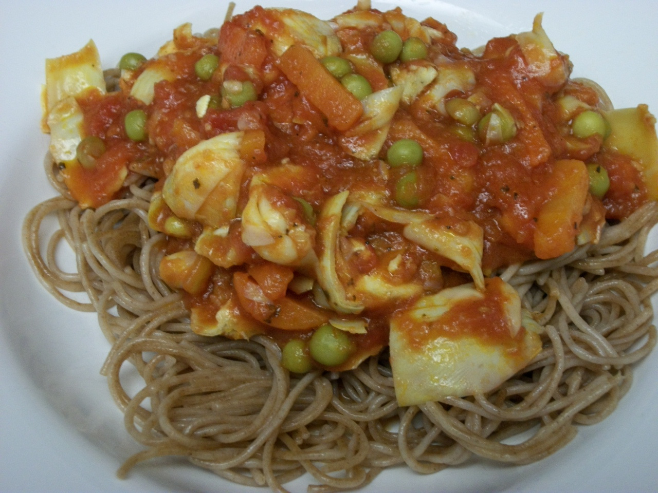 Almost Vegetarian: Vegetarian Pasta Lunches