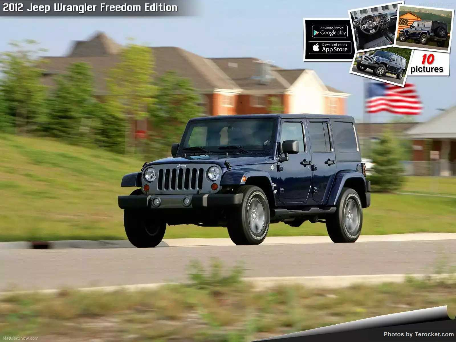 Hình ảnh xe ô tô Jeep Wrangler Freedom Edition 2012 & nội ngoại thất