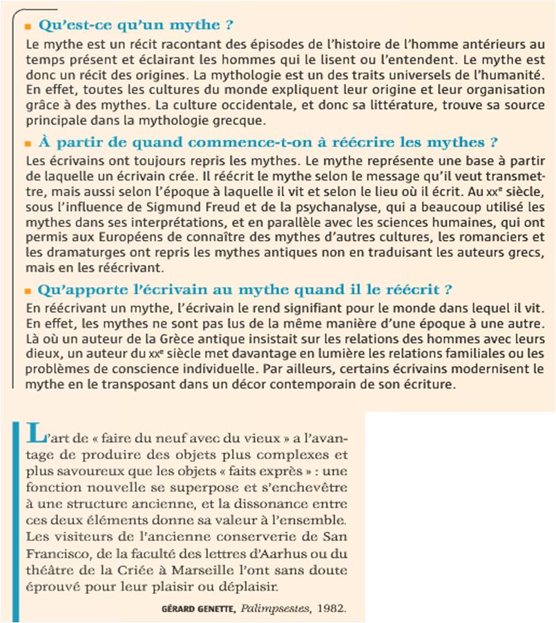 Monologue de séquence - Pédagogie de l'Académie de Nice