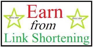 Earn From Link Shortening