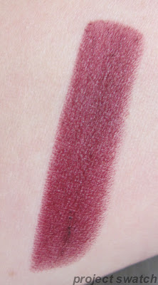 Milani Black Cherry Lipstick swatch
