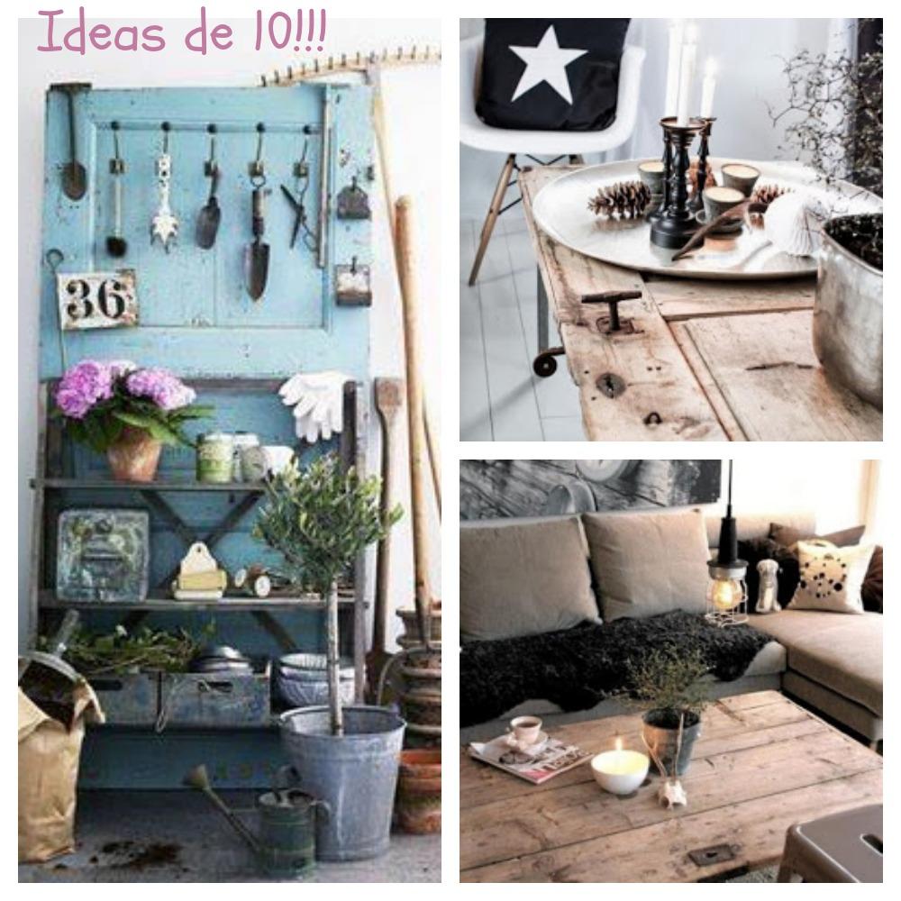 Una pizca de hogar puertas que renacen for Como decorar el hogar