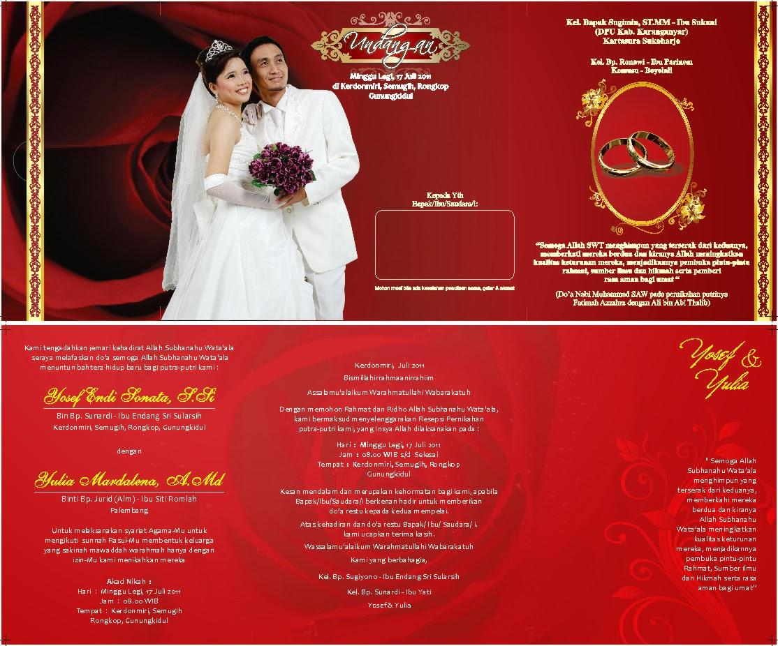 Template undangan perkawainan terlengkap