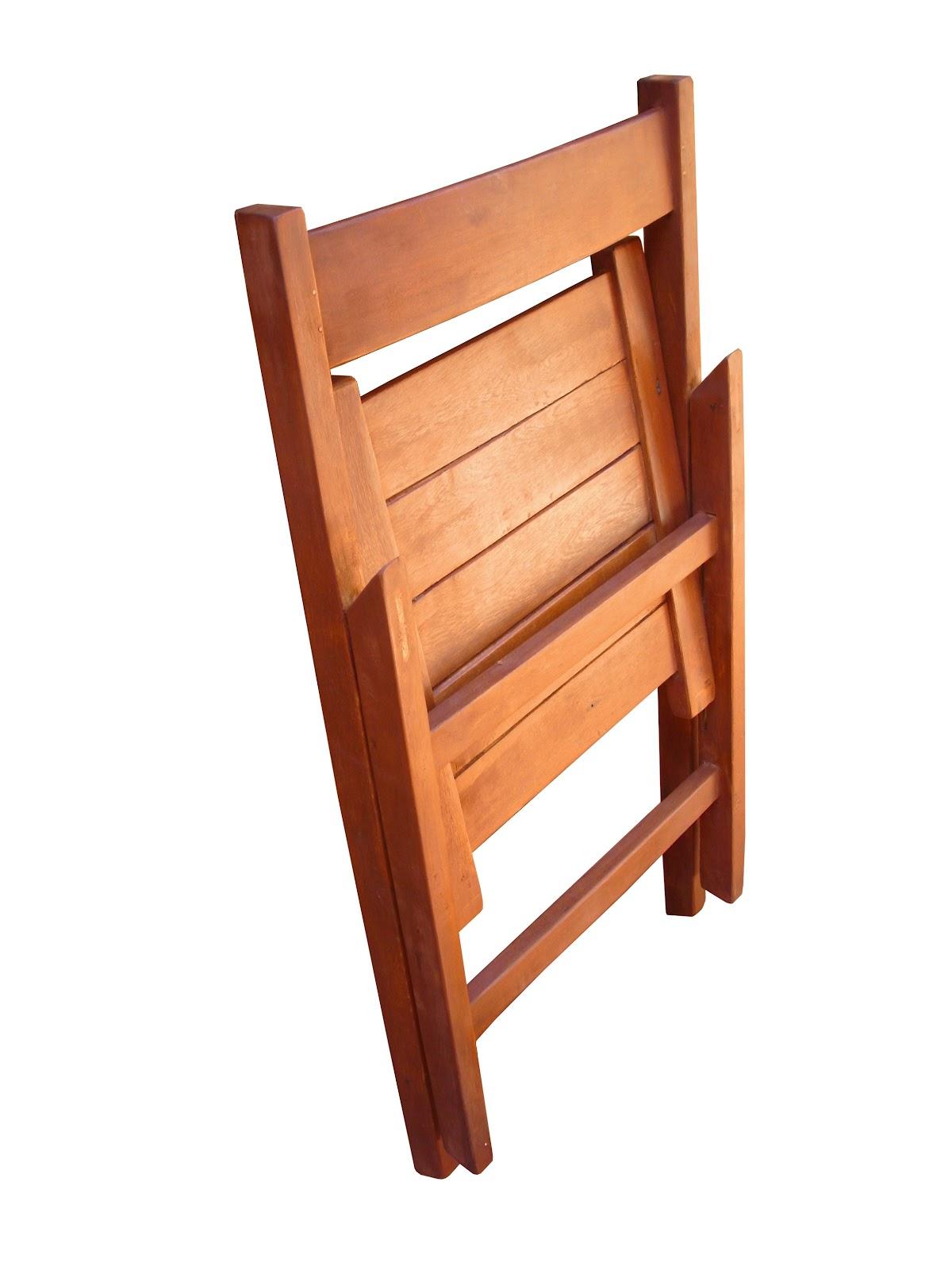 Silla plegable madera de guayaibi interior exterior for Sillas madera modernas