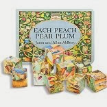 Each peach Pear plum - Book & Blocks