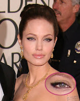 Angelina Jolie's Cats eye