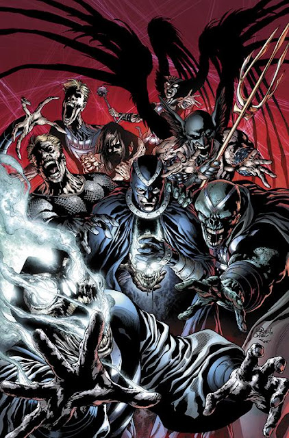 BLACK LANTERN; THE POWER OF DEAD
