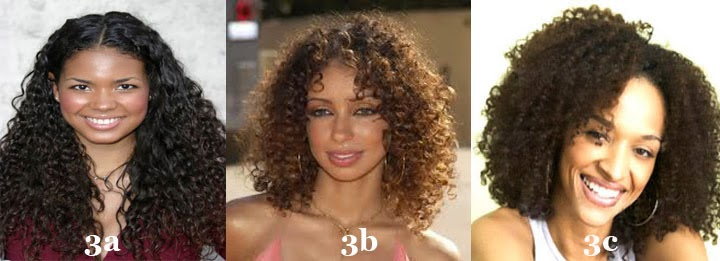 Curly Hair Routine 4 Diffe Natural Types