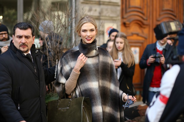 Karlie Kloss,Milano, February 2015