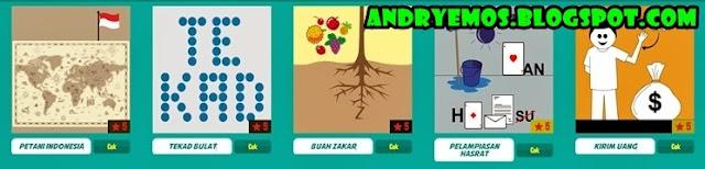 Kunci Jawaban Game Tebak Gambar Android Level 5