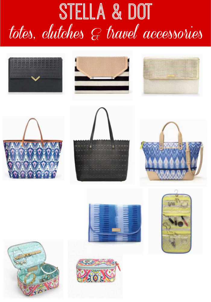 Stella & Dot: Totes, Clutches & Travel Accessories