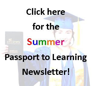 Summer Passport Activity Newsletter
