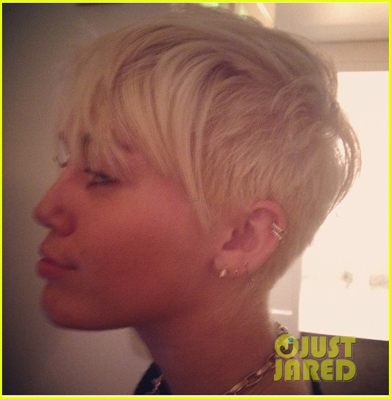 Miley Cyrus Haircut