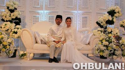 Lagi Gambar Pernikahan Lisa Surihani dan Yusry