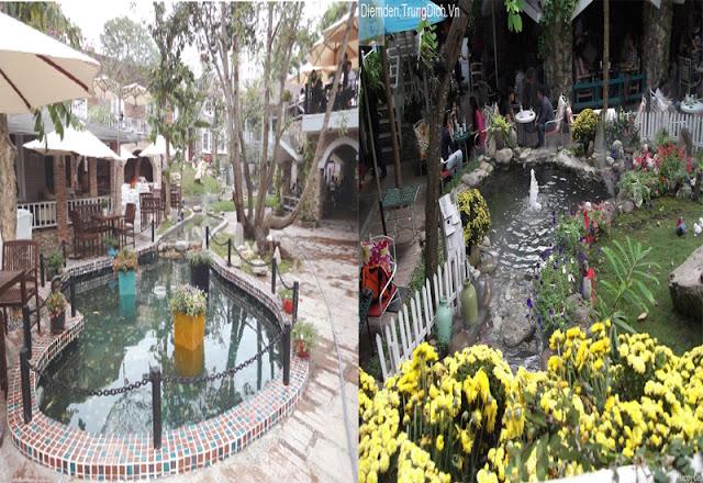 Cafe Country House - Những quán cafe sân vườn đẹp tại Sài Gòn
