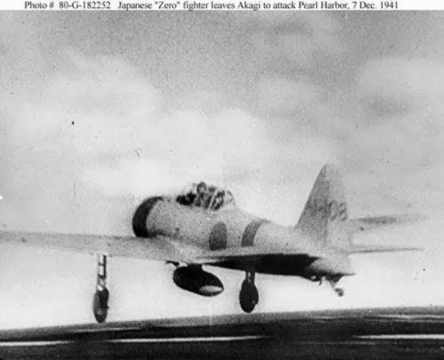 Pesawat tempur Mitsubishi A6M2 Angkatan Laut Jepang