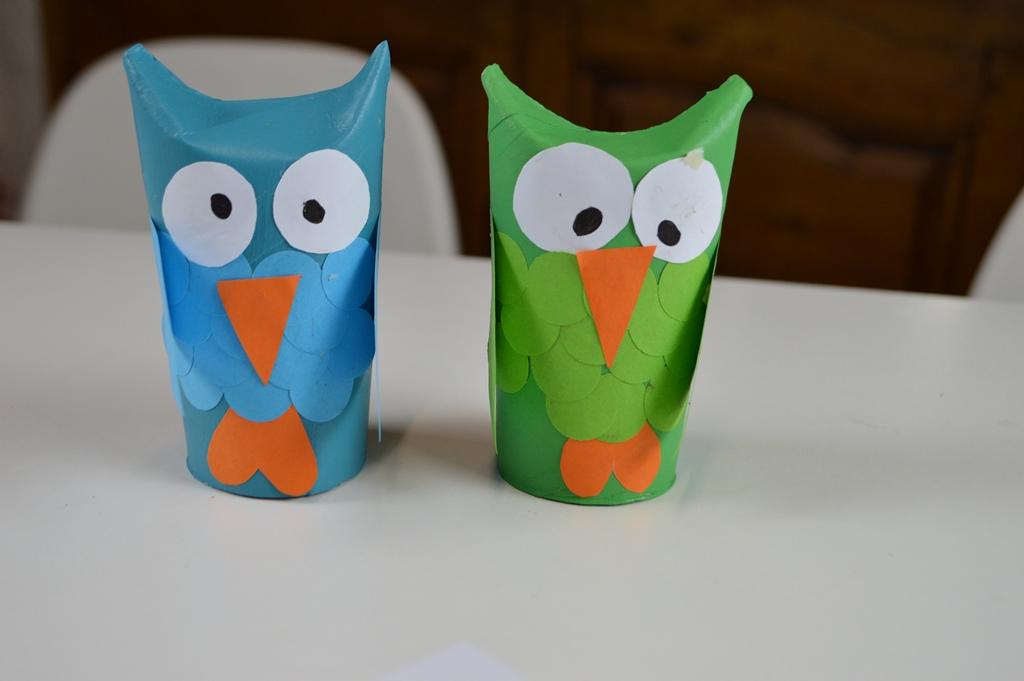 Como hacer buhos de papel manualidades para fiestas b 250 - Youtube manualidades de papel ...