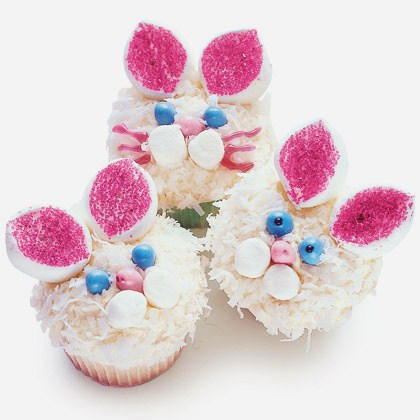 cute easter bunny pics. cute easter bunny cupcakes.