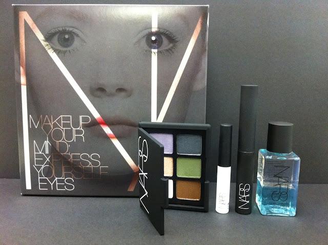 nars makeup cosmetics zara summer collection 夏日妝容 Makeup Your Mind II Eye Set