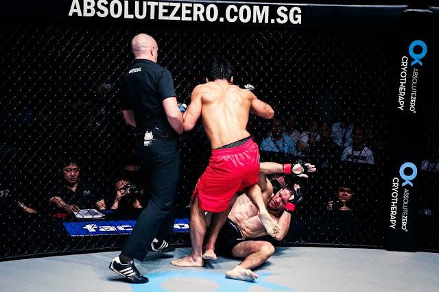 ONE FC 22 Koji Ando stomps Zorobabel Moreira