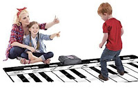 Gigantic Keyboard Play Mat, 24 Keys Piano For Kids #Kidspianomat