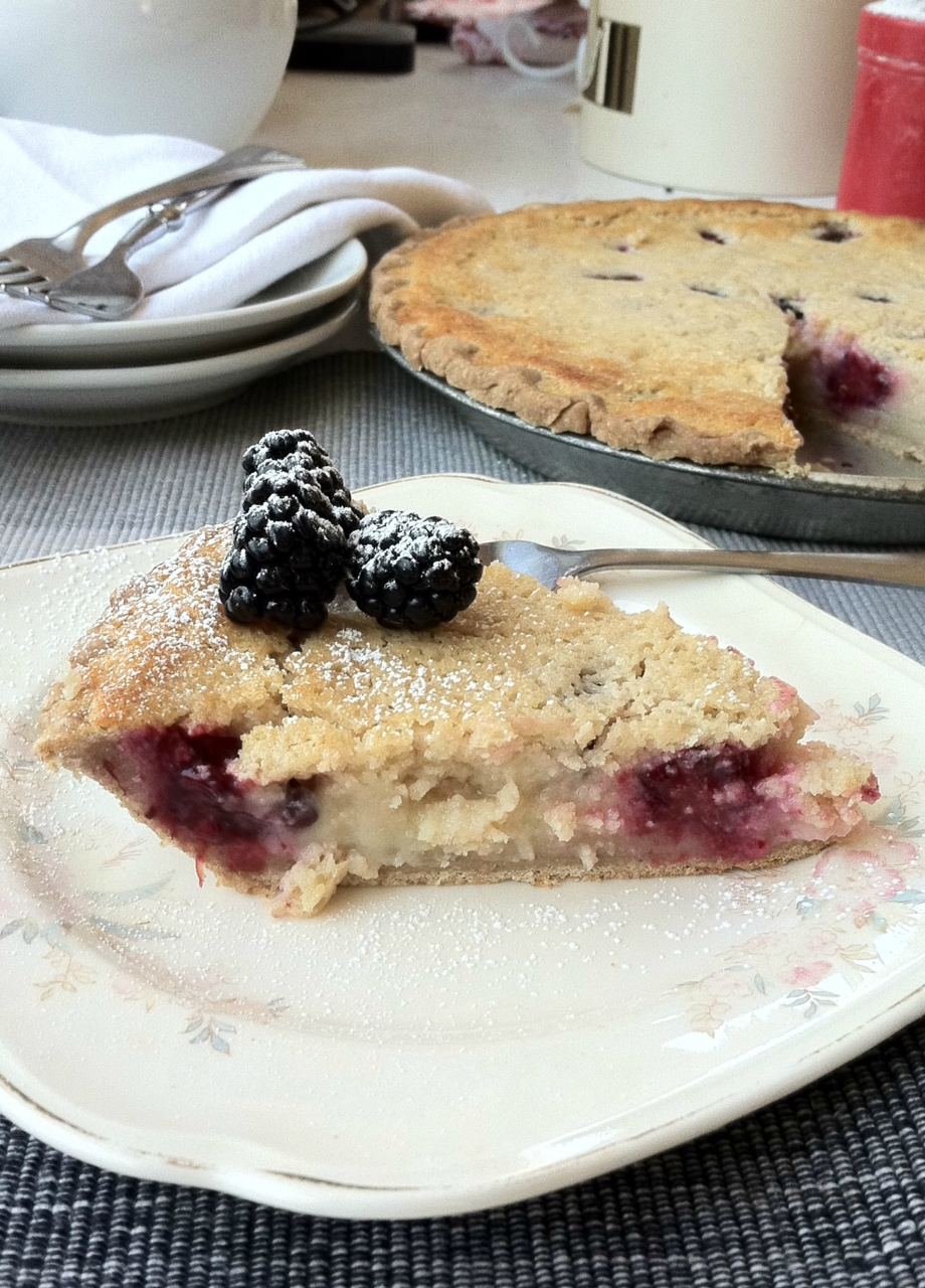 Almacucina: Sourdough Buttermilk Blackberry Pie