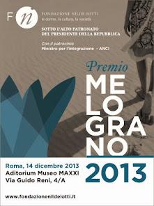 Premio Melograno 14 dicembre 2013