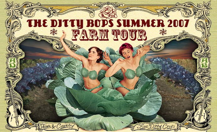 The Ditty Bops Farm Tour