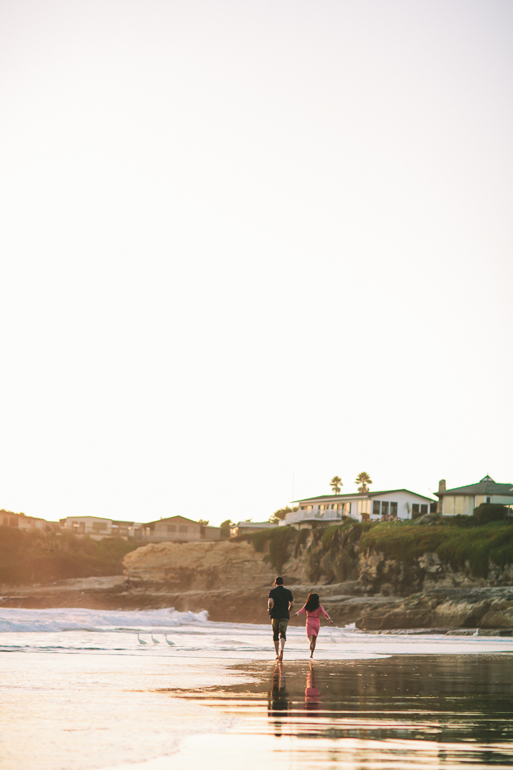 ocean engagement, beach engagement, Bay Area Wedding Photographer, natural bridges state beach santa cruz