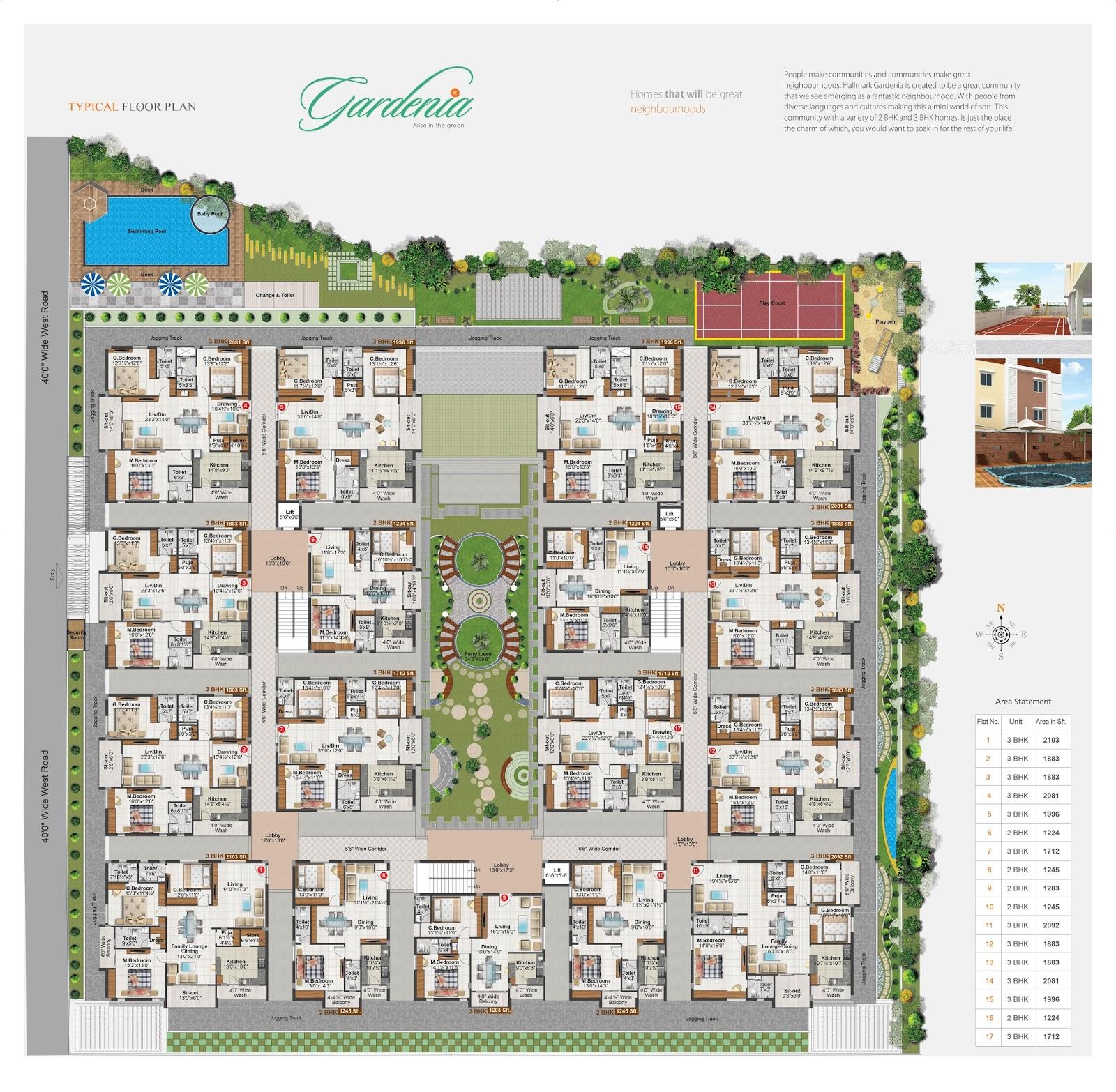 hallmark gardenia luxury gated apartments